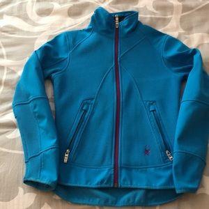 Women's Spider jacket bright blue
